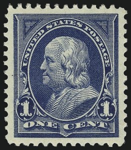 Sale Number 1034, Lot Number 246, 1895-98 Bureau Issues (Scott 264-284)1c Blue (264), 1c Blue (264)