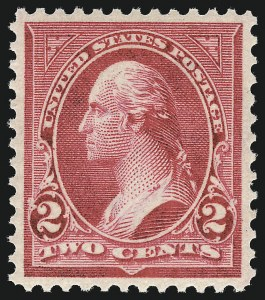 Sale Number 1034, Lot Number 262, 1895-98 Bureau Issues (Scott 264-284)2c Rose Carmine, Ty. IV (279Bc), 2c Rose Carmine, Ty. IV (279Bc)