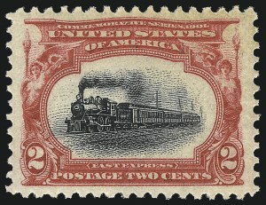 Sale Number 1034, Lot Number 281, 1901 Pan-American Issue with Inverts (Scott 294-299)2c Pan-American (295), 2c Pan-American (295)