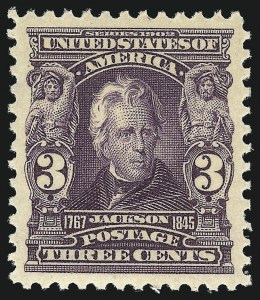 Sale Number 1034, Lot Number 292, 1902-08 Issues (Scott 300-320a)3c Bright Violet (302), 3c Bright Violet (302)