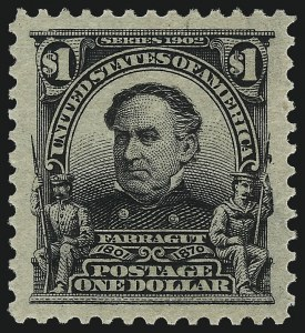 Sale Number 1034, Lot Number 303, 1902-08 Issues (Scott 300-320a)$1.00 Black (311), $1.00 Black (311)
