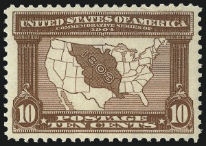 Sale Number 1034, Lot Number 313, Louisiana Purchase and Jamestown Issues (Scott 323-330)