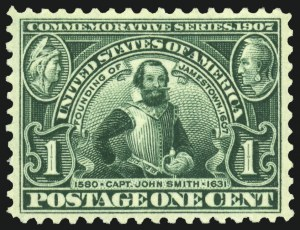 Sale Number 1034, Lot Number 314, Louisiana Purchase and Jamestown Issues (Scott 323-330)1c Jamestown (328), 1c Jamestown (328)