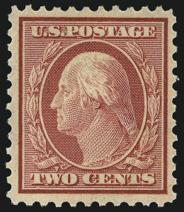 Sale Number 1034, Lot Number 468, 1917-20 Washington-Franklin Issues (Scott 486-541)2c Carmine (519), 2c Carmine (519)