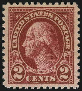 Sale Number 1034, Lot Number 512, 1922-25 Issue and Later Issues (Scott 550-834)2c Carmine, Ty. II (634A), 2c Carmine, Ty. II (634A)