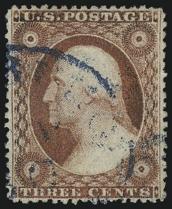 Sale Number 1034, Lot Number 53, 1857-60 Issue and 1875 Reprint (Scott 18-47)3c Dull Red, Ty. IV (26A), 3c Dull Red, Ty. IV (26A)
