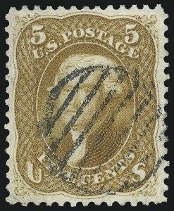 Sale Number 1034, Lot Number 77, 1861-66 Issue (Scott 62B-78)5c Buff (67), 5c Buff (67)