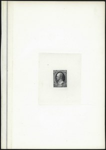 Sale Number 1037, Lot Number 1163, Essays and Proofs (1870-88 Bank Note Issues)30c Gray Black, Large Die Proof on India (165P1), 30c Gray Black, Large Die Proof on India (165P1)