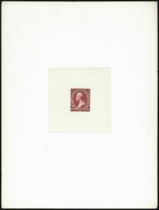 Sale Number 1037, Lot Number 1221, Essays and Proofs (1894 Bureau Issue thru Louisiana Purchase )2c Medium Deep Red, Ty. I, Large Die Essay on India (250-E7), 2c Medium Deep Red, Ty. I, Large Die Essay on India (250-E7)