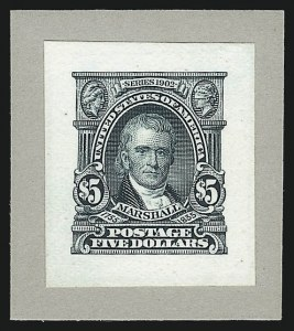 Sale Number 1037, Lot Number 1232, Essays and Proofs (1894 Bureau Issue thru Louisiana Purchase )1c-$5.00 1902-03 Issue, Small Die Proofs on Wove (300P2-313P2), 1c-$5.00 1902-03 Issue, Small Die Proofs on Wove (300P2-313P2)