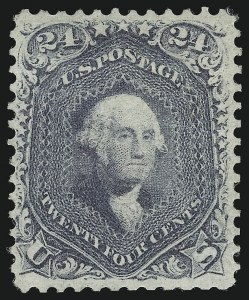 Sale Number 1037, Lot Number 1564, 1861-66 Issue (Scott 67-78c)24c Steel Blue (70b), 24c Steel Blue (70b)