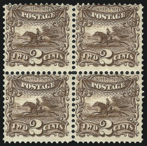 Sale Number 1037, Lot Number 1656, 1869 Pictorial Issue (Scott 112-122)2c Brown (113), 2c Brown (113)