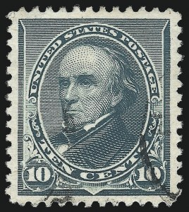 Sale Number 1037, Lot Number 1787, 1890-93 Issue (Scott 219-229a)10c Green (226), 10c Green (226)