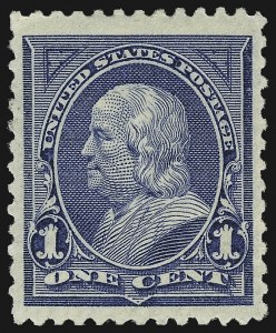 Sale Number 1037, Lot Number 1864, 1894-98 Bureau Issues (Scott 246-284)1c Blue (247), 1c Blue (247)