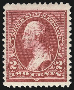 Sale Number 1037, Lot Number 1866, 1894-98 Bureau Issues (Scott 246-284)2c Pink, Carmine Lake, Ty. I (248-249), 2c Pink, Carmine Lake, Ty. I (248-249)