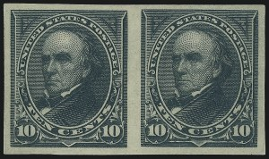 Sale Number 1037, Lot Number 1868, 1894-98 Bureau Issues (Scott 246-284)3c-10c 1894 Bureau Issue, Imperforate (253a, 254a, 258a), 3c-10c 1894 Bureau Issue, Imperforate (253a, 254a, 258a)