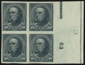 Sale Number 1037, Lot Number 1875, 1894-98 Bureau Issues (Scott 246-284)10c Green, Imperforate (258a), 10c Green, Imperforate (258a)