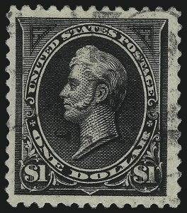 Sale Number 1037, Lot Number 1876, 1894-98 Bureau Issues (Scott 246-284)$1.00 Black (261), $1.00 Black (261)