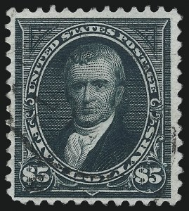 Sale Number 1037, Lot Number 1884, 1894-98 Bureau Issues (Scott 246-284)$5.00 Dark Green (263), $5.00 Dark Green (263)