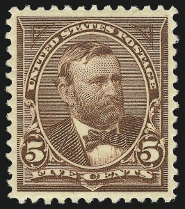 Sale Number 1037, Lot Number 1889, 1894-98 Bureau Issues (Scott 246-284)5c Chocolate (270), 5c Chocolate (270)