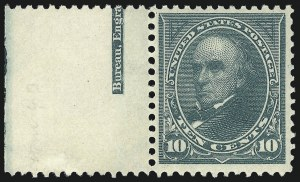 Sale Number 1037, Lot Number 1892, 1894-98 Bureau Issues (Scott 246-284)10c Dark Green (273), 10c Dark Green (273)