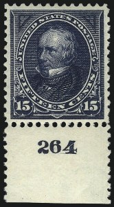 Sale Number 1037, Lot Number 1893, 1894-98 Bureau Issues (Scott 246-284)15c Dark Blue (274), 15c Dark Blue (274)