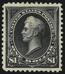 Sale Number 1037, Lot Number 1898, 1894-98 Bureau Issues (Scott 246-284)$1.00 Black, Ty. I (276), $1.00 Black, Ty. I (276)