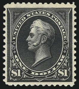 Sale Number 1037, Lot Number 1899, 1894-98 Bureau Issues (Scott 246-284)$1.00 Black, Ty. I (276), $1.00 Black, Ty. I (276)