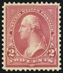 Sale Number 1037, Lot Number 1902, 1894-98 Bureau Issues (Scott 246-284)2c Rose Carmine, Ty. IV (279Bc), 2c Rose Carmine, Ty. IV (279Bc)