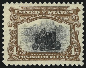 Sale Number 1037, Lot Number 1931, 1901 Pan-American Issue (Scott 294-299)1c-10c Pan-American (294-299), 1c-10c Pan-American (294-299)