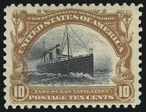 Sale Number 1037, Lot Number 1944, 1901 Pan-American Issue (Scott 294-299)8c-10c Pan-American (298-299), 8c-10c Pan-American (298-299)