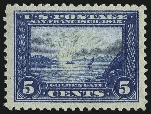Sale Number 1037, Lot Number 2034, Panama-Pacific thru 1914 Issue (Scott 399-440)5c Panama-Pacific (399), 5c Panama-Pacific (399)