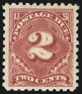 Sale Number 1037, Lot Number 2303, Postage Due Featuring Blocks and Plate Blocks (Scott J31-J75)2c Rose (J60), 2c Rose (J60)