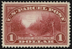 Sale Number 1037, Lot Number 2349, Officials, Newspapers & Periodicals, Parcel Post (O, PR, Q)$1.00 Parcel Post (Q12), $1.00 Parcel Post (Q12)