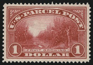 Sale Number 1037, Lot Number 2350, Officials, Newspapers & Periodicals, Parcel Post (O, PR, Q)$1.00 Parcel Post (Q12), $1.00 Parcel Post (Q12)