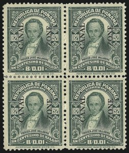 Sale Number 1037, Lot Number 2420, United States PossessionsCANAL ZONE, 1924, 1c Green (67), CANAL ZONE, 1924, 1c Green (67)