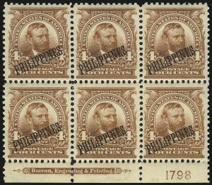 Sale Number 1037, Lot Number 2449, United States PossessionsPHILIPPINES, 1903, 4c Orange Brown (229a), PHILIPPINES, 1903, 4c Orange Brown (229a)