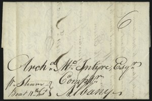 "Sale Number 1037, Lot Number 2726, Autographs & Free Franks, Colonial, States, Waterway & Ship""Pr. Steam-Boat 11th Inst, ""Pr. Steam-Boat 11th Inst"