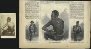Sale Number 1037, Lot Number 2869, Slavery and the Civil War, Slave Related, Liberia, Anti Slavery1863, Carte-de-Visite of Gordon, 1863, Carte-de-Visite of Gordon