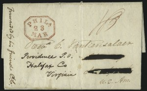 "Sale Number 1037, Lot Number 2876, Slavery and the Civil War, Slave Related, Liberia, Anti Slavery""Monrovia, Liberia, 29 Aug. 1834"", ""Monrovia, Liberia, 29 Aug. 1834"""