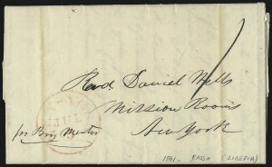 "Sale Number 1037, Lot Number 2881, Slavery and the Civil War, Slave Related, Liberia, Anti Slavery""Bassa (Liberia), March 31st 1841"", ""Bassa (Liberia), March 31st 1841"""