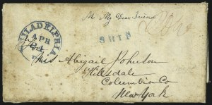 "Sale Number 1037, Lot Number 2884, Slavery and the Civil War, Slave Related, Liberia, Anti Slavery""Monrovia (Liberia) Dec. 11th 1841"", ""Monrovia (Liberia) Dec. 11th 1841"""