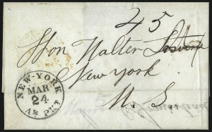 "Sale Number 1037, Lot Number 2889, Slavery and the Civil War, Slave Related, Liberia, Anti Slavery""Monrovia Liberia Feb. 6th 1854"", ""Monrovia Liberia Feb. 6th 1854"""