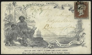 Sale Number 1037, Lot Number 2892, Slavery and the Civil War, Slave Related, Liberia, Anti SlaveryAnti-Slavery, Anti-Slavery