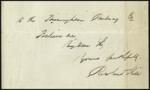 Sale Number 1037, Lot Number 2938, Great Britain: Postal History, Parliament Entires and MulreadysGREAT BRITAIN, Rowland Hill, GREAT BRITAIN, Rowland Hill