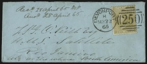 Sale Number 1037, Lot Number 3029, Great Britain: Stamps and BalancesGREAT BRITAIN, 1862, 9p Straw (40, SG 86), GREAT BRITAIN, 1862, 9p Straw (40, SG 86)