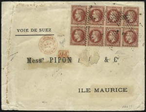 Sale Number 1037, Lot Number 3079, Cape of Good Hope thru GermanyFRANCE, 1863-70, 80c Carmine on Yellowish (36a; Yvert 32a), FRANCE, 1863-70, 80c Carmine on Yellowish (36a; Yvert 32a)