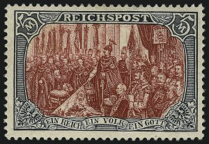 Sale Number 1037, Lot Number 3082, Cape of Good Hope thru GermanyGERMANY, 1902, 2pf-5m Reichspost (52-65A), GERMANY, 1902, 2pf-5m Reichspost (52-65A)