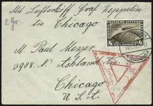 Sale Number 1037, Lot Number 3101, Cape of Good Hope thru GermanyGERMANY, 1933, 1m-4m Chicago Flight (C43-C45), GERMANY, 1933, 1m-4m Chicago Flight (C43-C45)