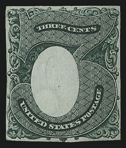 Sale Number 1040, Lot Number 1060, Essays and Proofs (1870-90 Bank Note Issues)Continental Bank Note Co., 3c Green, Columbia Portrait, Large Die Essay on India (147-E1B), Continental Bank Note Co., 3c Green, Columbia Portrait, Large Die Essay on India (147-E1B)